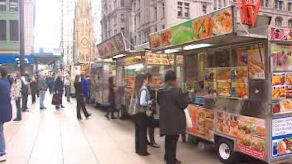 Street vendor reactions to proposal to have letter grades for food carts.