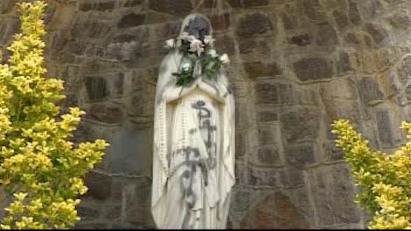 Vandals hit church in Yonkers