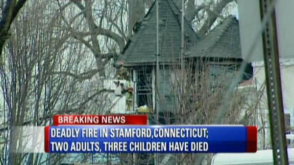 Two adults, 3 children killed in fire