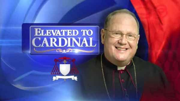 New York Archbishop Dolan named as Cardinal