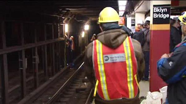 Reaction to overnight subway work