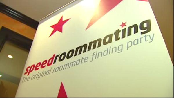 Find a roommate now with SpeedRoommating
