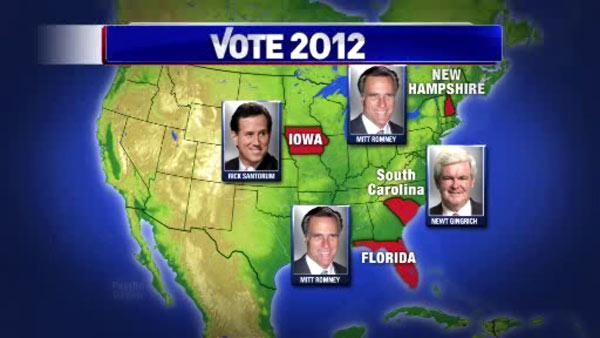 Romney takes Florida, gains momentum in race