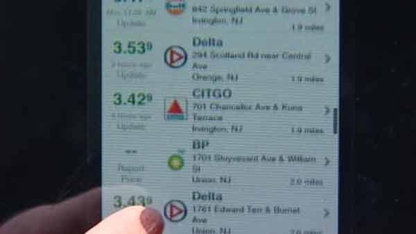 New app to help find low gas prices