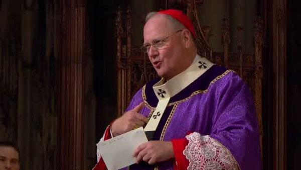 Day of celebration for Cardinal Dolan