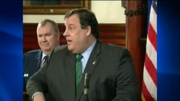Chris Christie critizies Ray Kelly's 'lack of coordination'