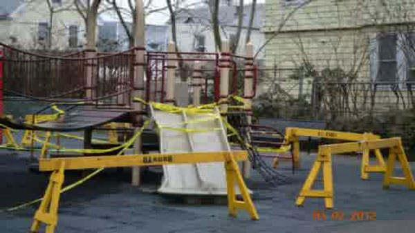 Police search for Jersey City playground arsonist