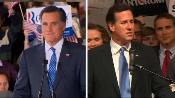 Super Tuesday results split among GOP candidates