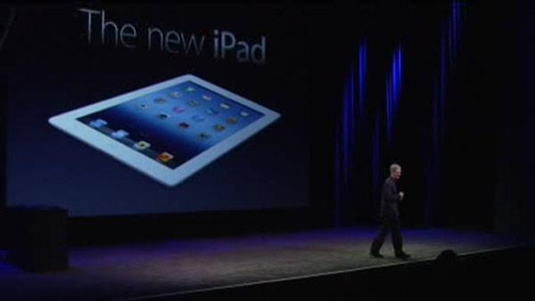 New iPad revealed