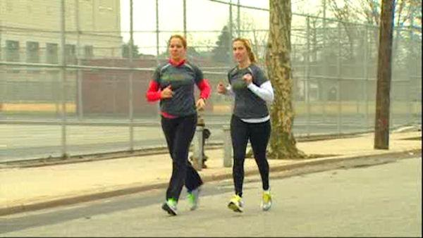 Moms raise money in the New York City Half-Marathon