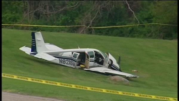 Two people survive hard landing in Yorktown Heights