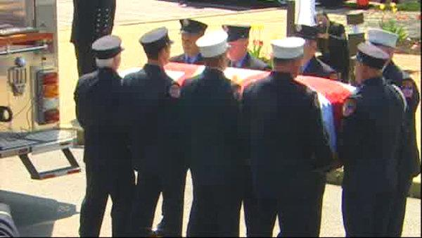 Mourners remember FDNY Lt. Richard Nappi