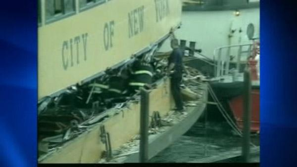 Faulty valve blamed for 2010 Staten Island Ferry crash