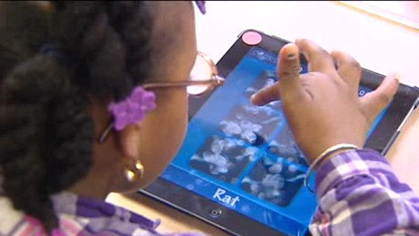 Helping kids with special needs using an iPad