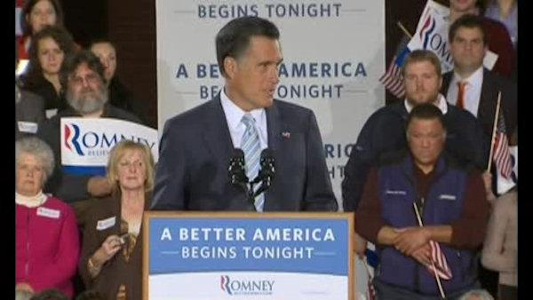 Major fundraising day for Mitt Romney