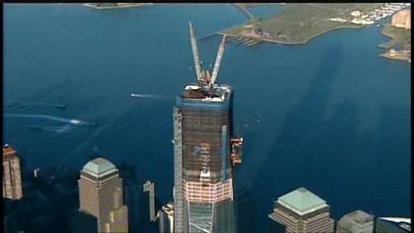 One World Trade building now largest in New York City