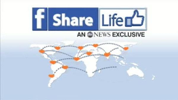 New Facebook feature to find more organ donors
