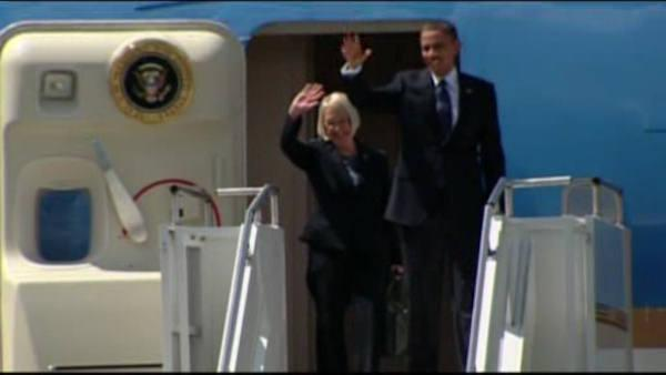 Obama back in New York for 3 fundraisers