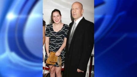 In this photo provided by StarPix, actor Bruce Willis,and his daughter Scout Willis arrive at the world premiere of their film Cop Out, Monday, Feb. 22, 2010 in New York. (AP Photo/Dave Allocca, StarPix)