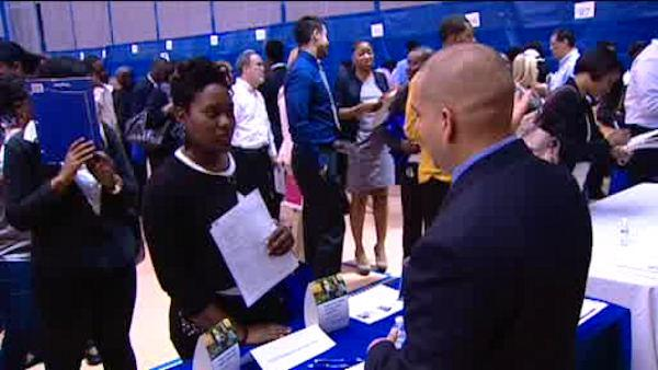 Thousands turn out at job fairs throughout the city