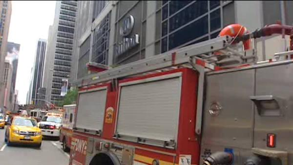 Fire knocks out power in parts of Midtown Hilton