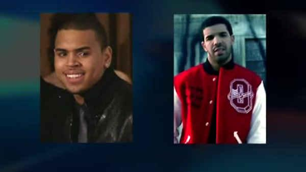 What started the nightclub brawl between Chris Brown and Drake?