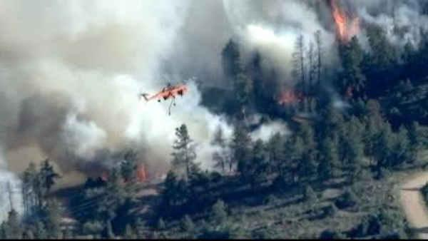 Thousands forced to flee due to Colorado wildfires