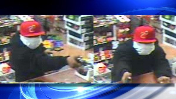 Suspect wanted in string of bodega robberies