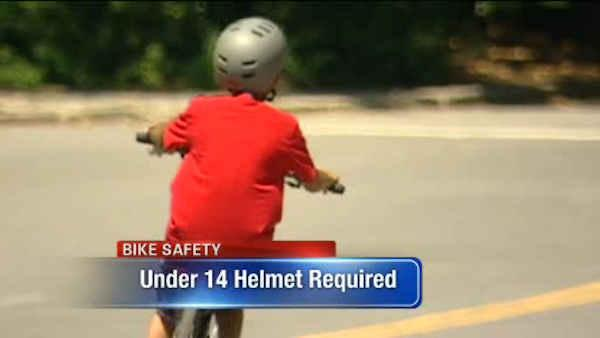 Summer safety tips for kids on bikes, skates