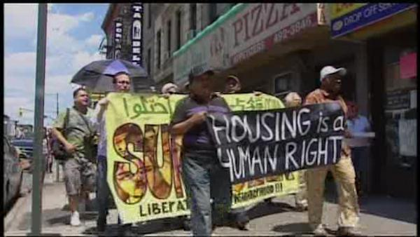 Tenants go on rent strike over building conditions