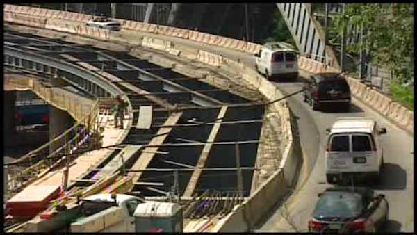 Construction in GW Bridge to cause major delays