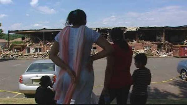 Residents cope with Woodbridge fire destruction