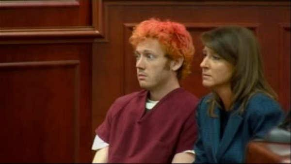 James Holmes remains behind bars after court appearance