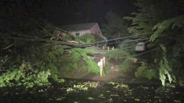 New York area cleans up after storms