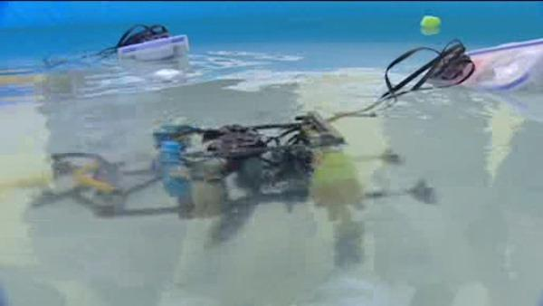 Underwater robots part of summer program