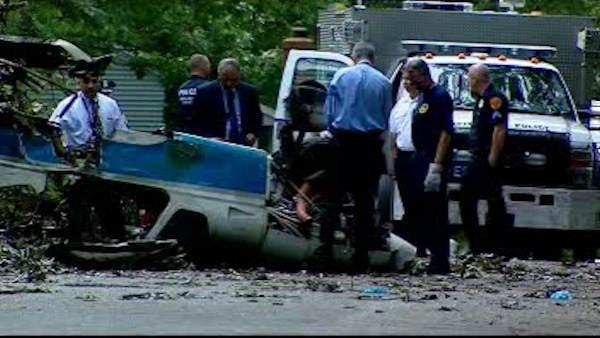 NTSB investigates deadly LI plane crash