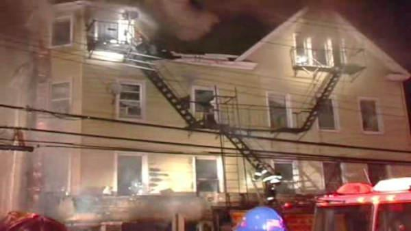 Queens fire forces residents to jump for their lives