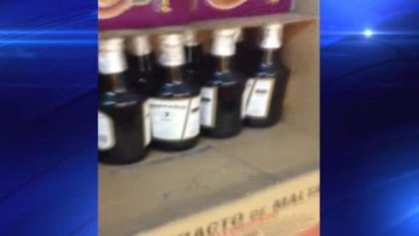 Bootleg booze bust in New Jersey