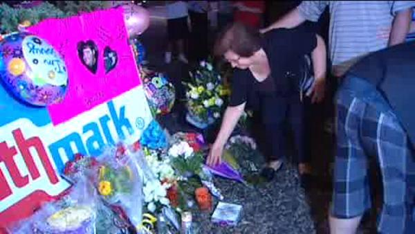 Vigil for supermarket shooting victims