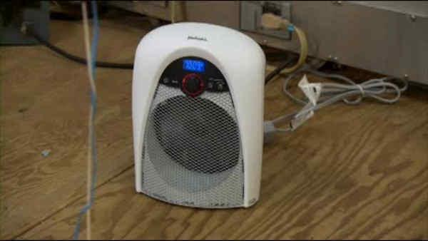 Dangerous space heaters found in testing