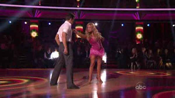Chris Brown, Lindsay Lohan, Dancing with the Stars