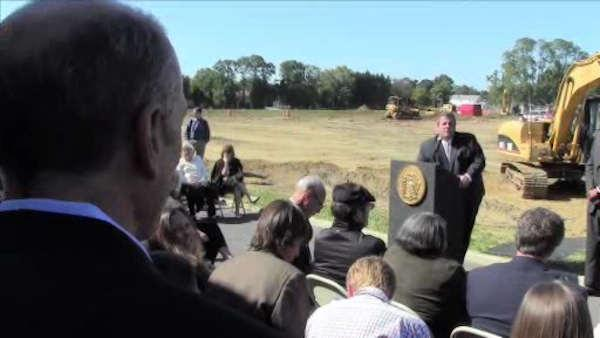 Raw Video: Jim Hoffer asks Gov. Christie about 'Homekeeper' program