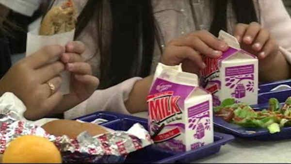 Students make video to draw attention to new lunch guidelines