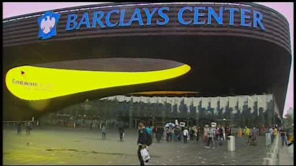 The new Barclays Center opens in downtown Brooklyn