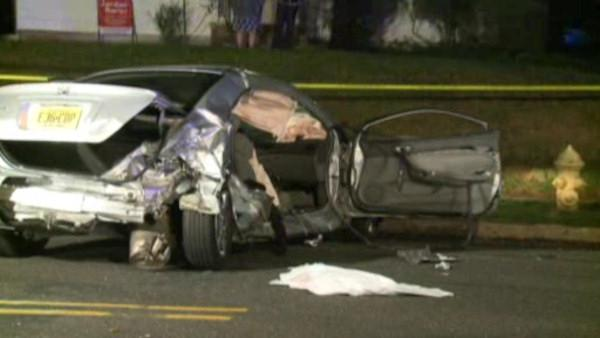Teen killed in car crash in New Jersey