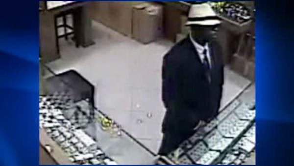 Surveillance of Manhattan jewelry store robbery