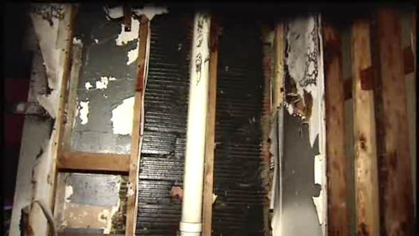 Exclusive: Damage inside scorched Newark apartment