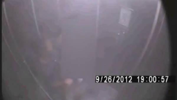 Brutal elevator assault caught on tape