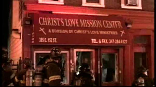 Overnight fire guts Bronx outreach facility