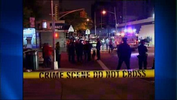 Manhunt continues for suspects in NYPD officer shooting
